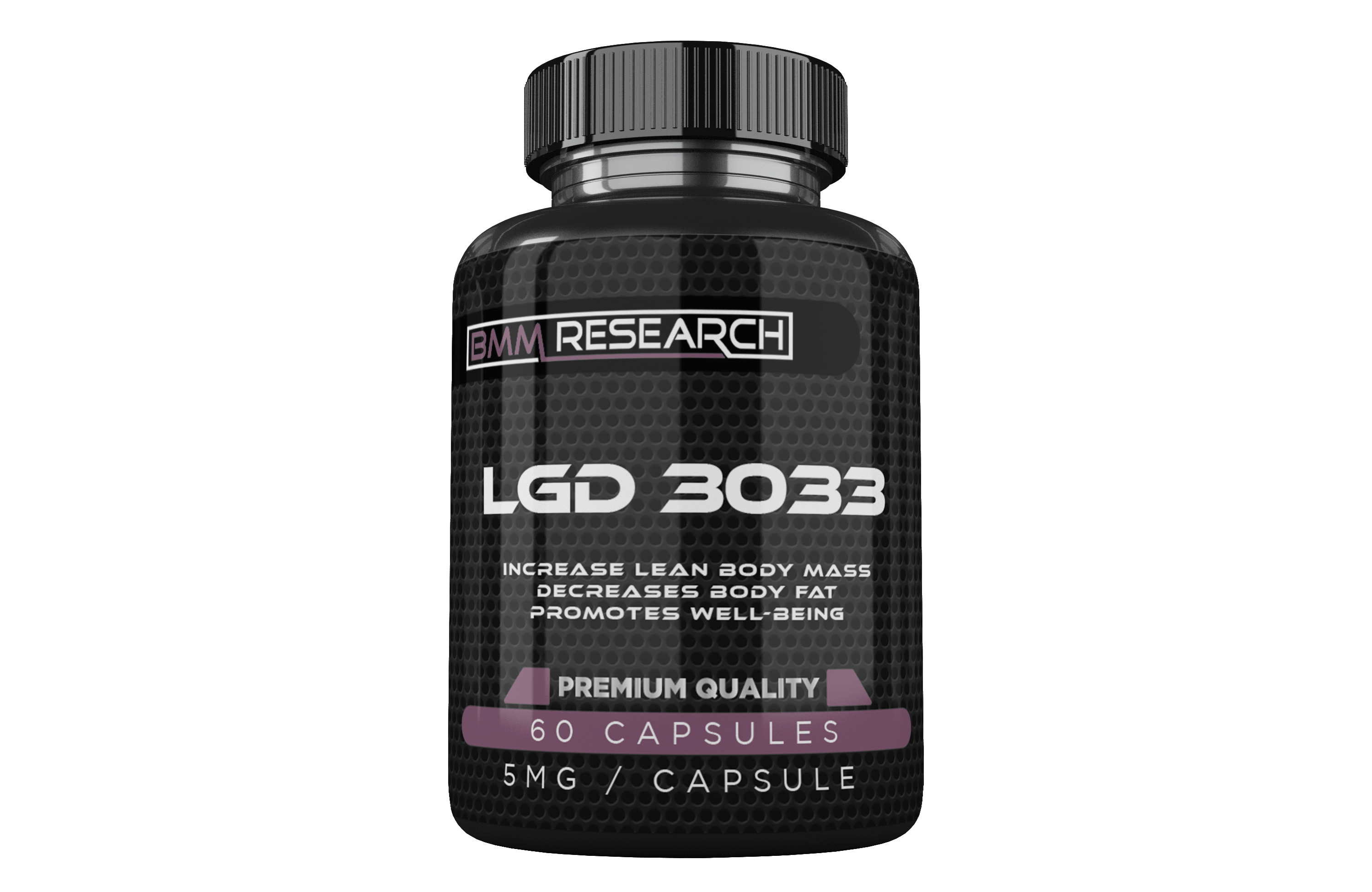 LGD 3033 - Increase lean body mass, decreases body fat en ptomotes well-being
