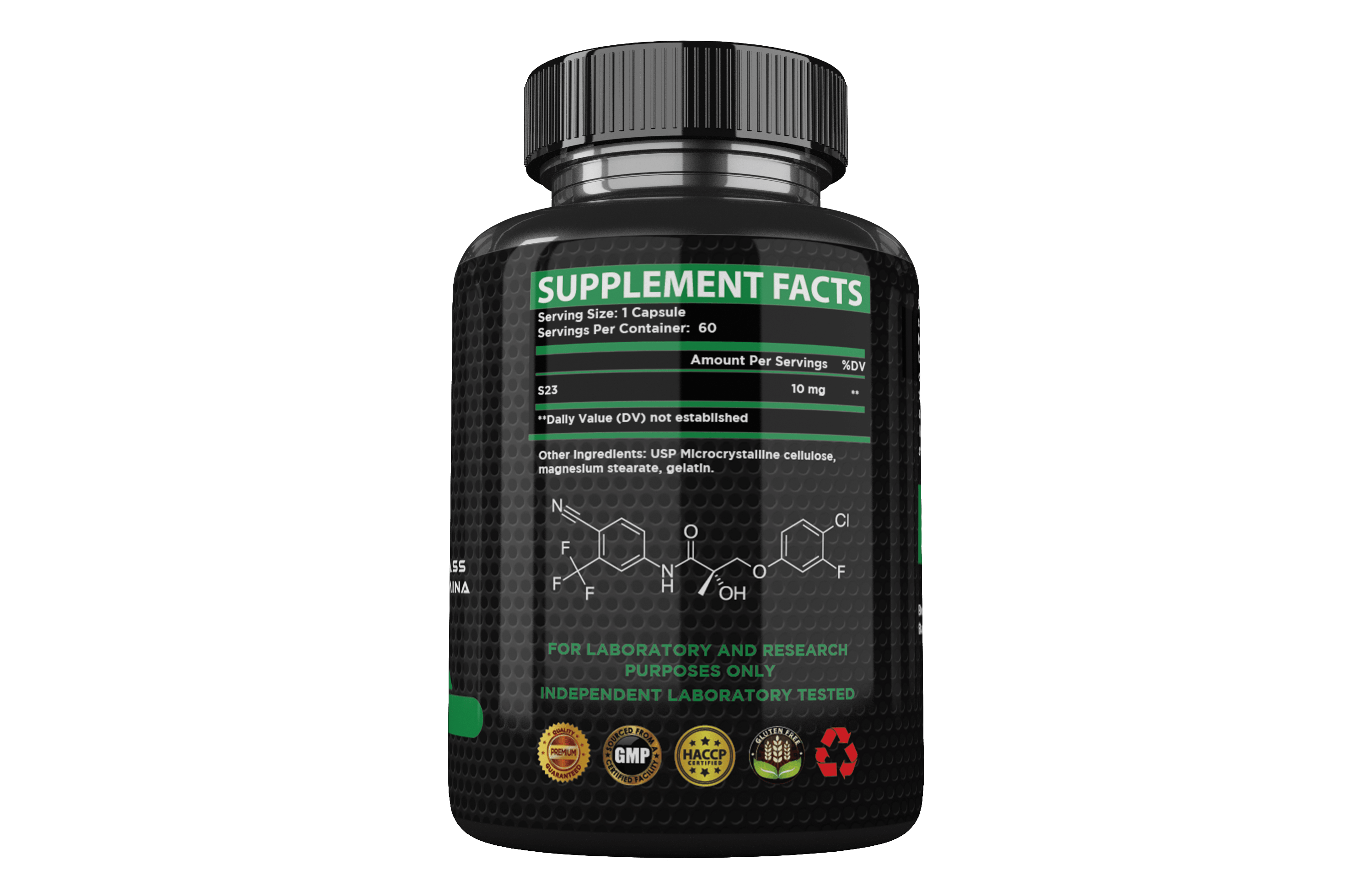 S23 - Helps build lean muscle mass increase stenght and stamina decrease bodyfat