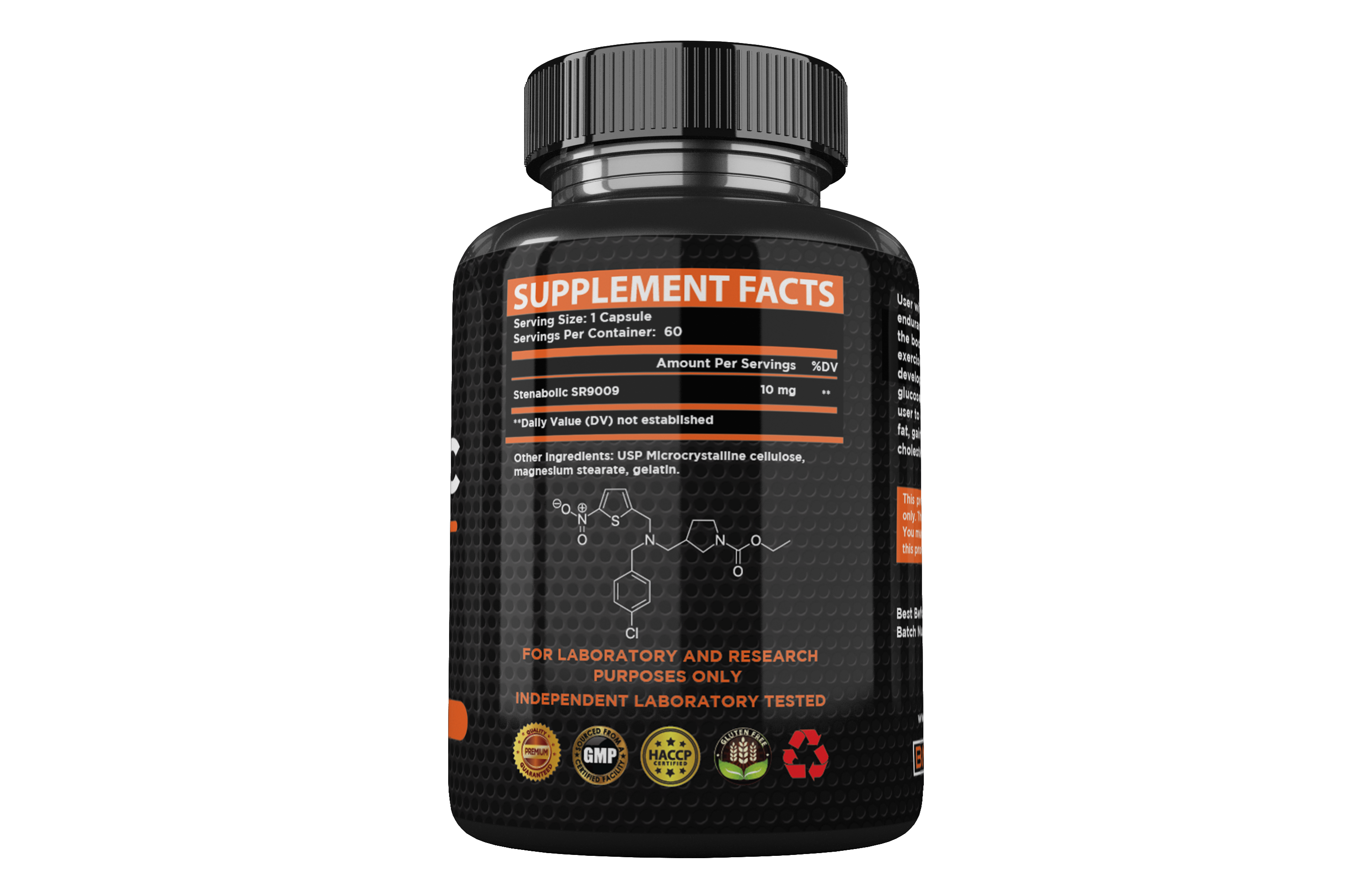 Steabolic SR9009 sarm capsules - Boost stamina endurance reduce bodyfat and weight