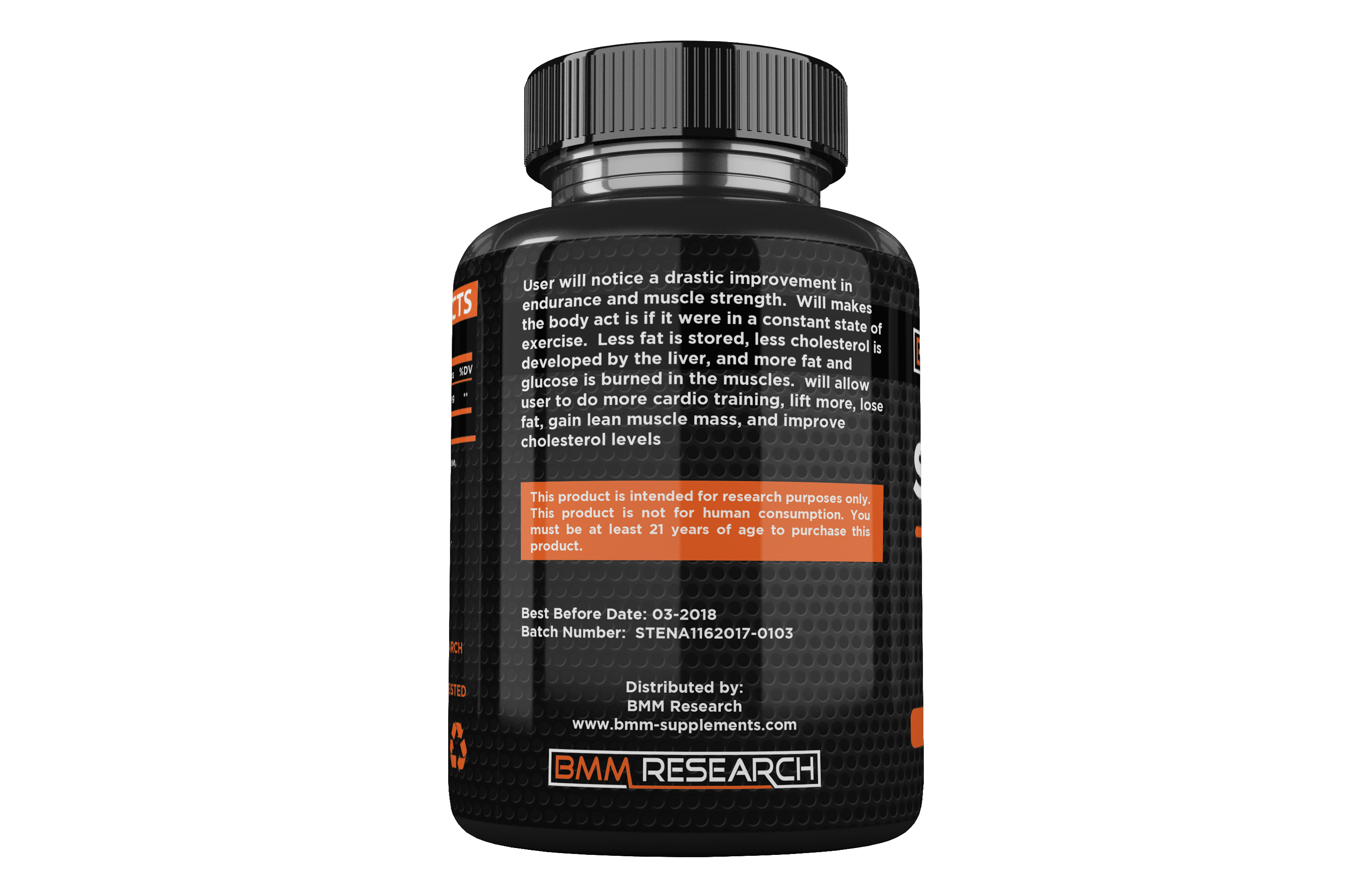 Stenabolic SR9009 sarm capsules - Boost stamina endurance reduce bodyfat and weight