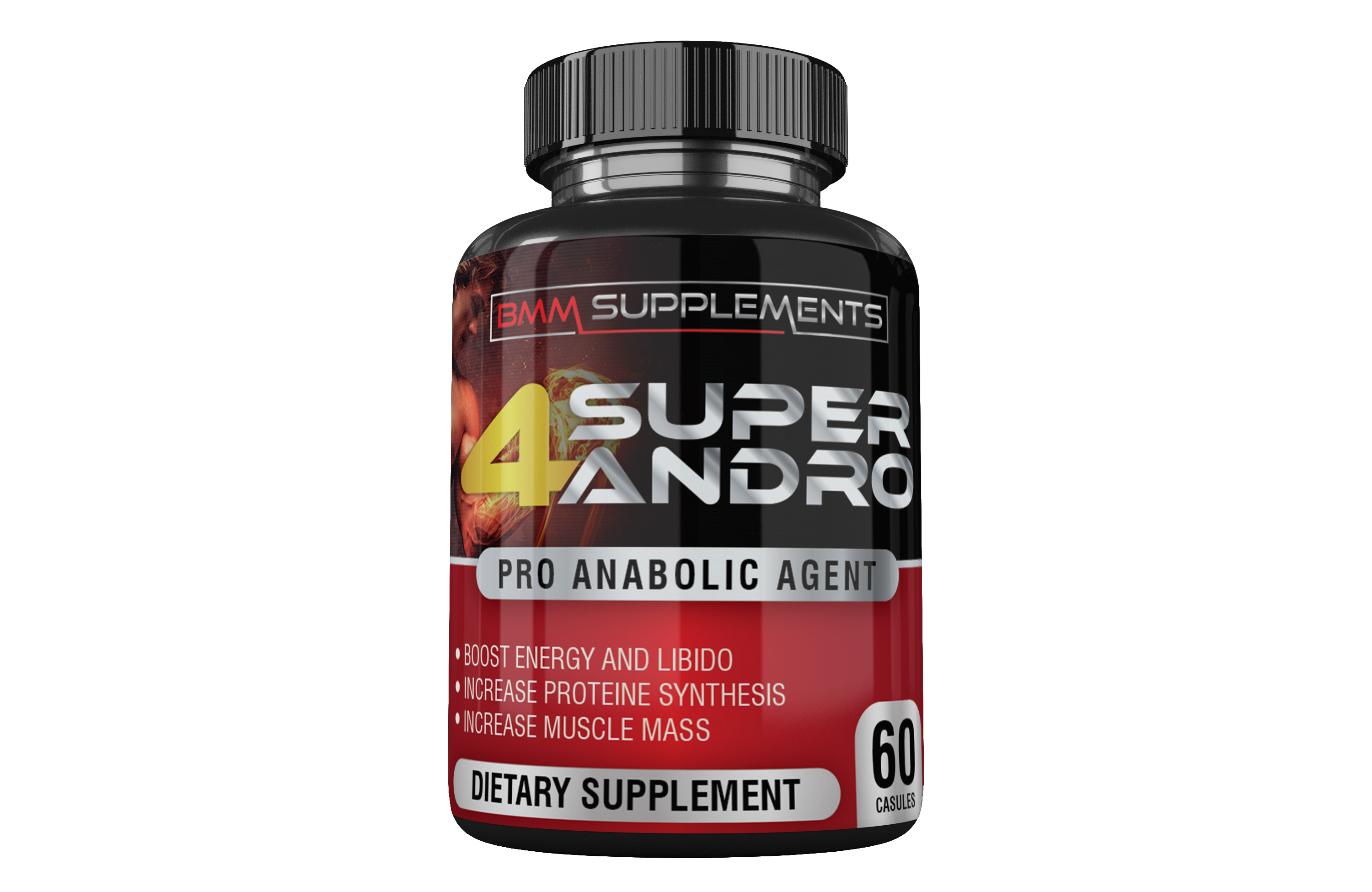4 Super Andro - Pro anabolic Agent