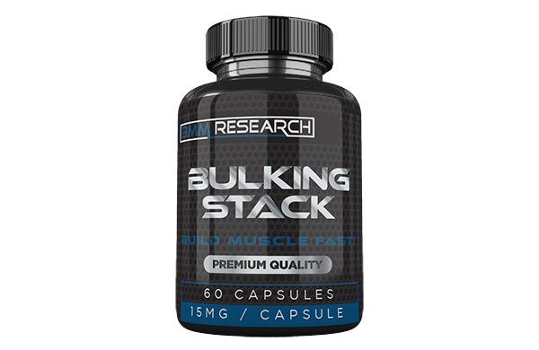 Bulking stack - premium quality, build muscle fast