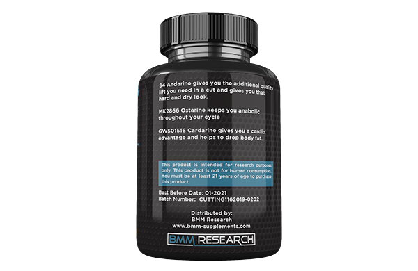 Sarm Cutting stack - Creates lean muscle mass and drops body fat